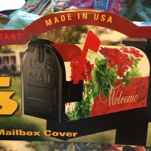 Mail Wrap Magnetic Mail Box Cover Xmas Stockings